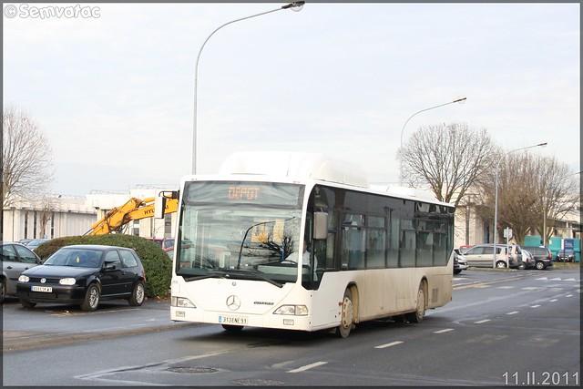 Mercedes-Benz Citaro Ü GNC – Transdev – Les Cars d'Orsay / STIF (Syndicat des Transports d'Île-de-France) / Albatrans n°460