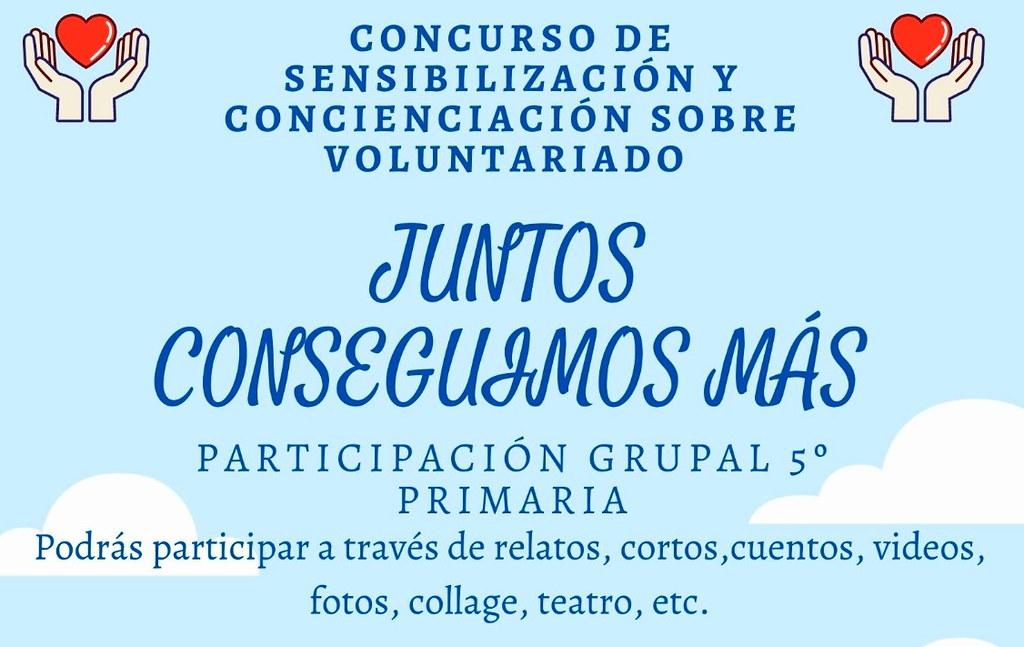 """""""Juntos conseguimos más"""", concurso de sensibilización sobre el voluntariado de Juventud Arahal y """"El Tarajal"""""""