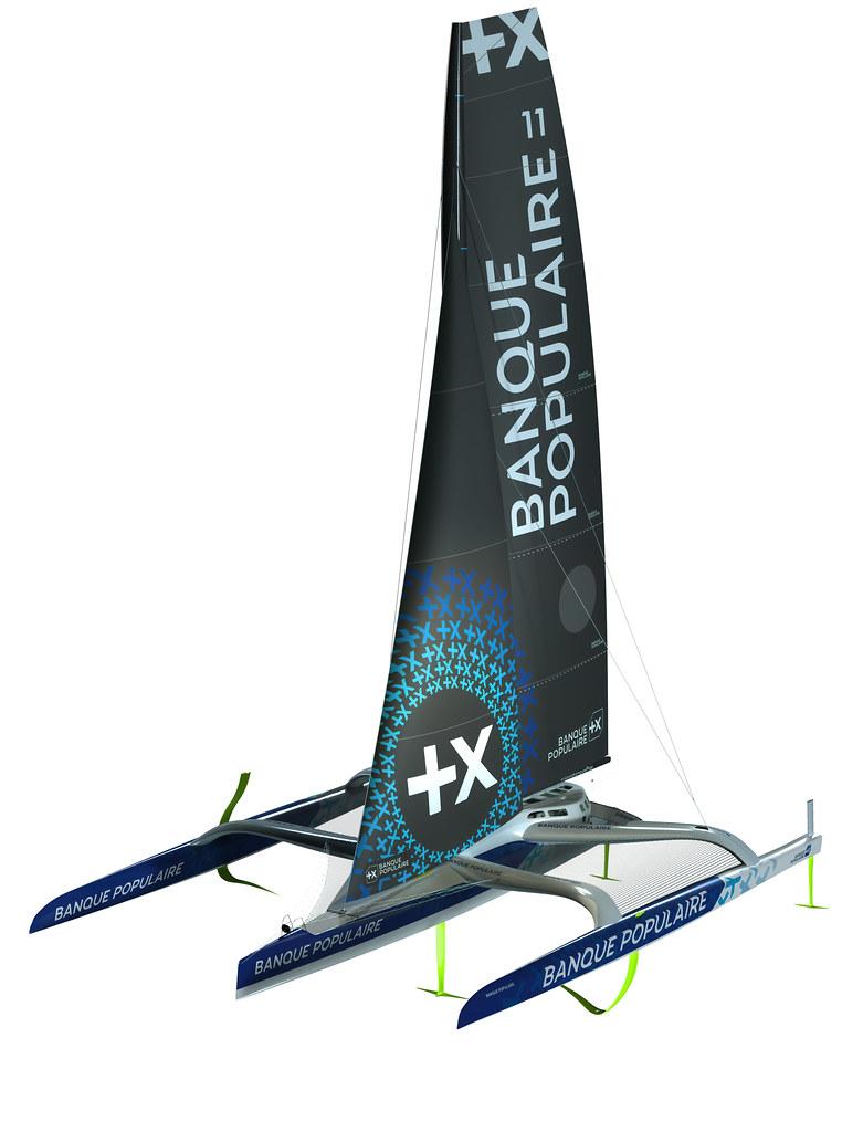 Maxi Banque Populaire XI - Design 3D