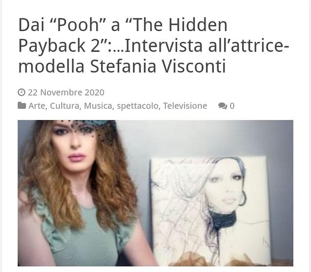 Stefania Visconti interview
