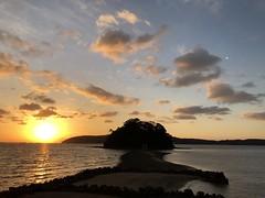 Sunrise at Kojima-jinja