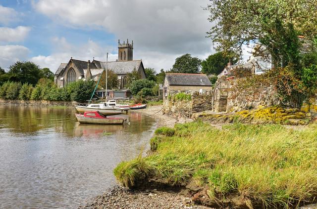 St Andrew's Church, Bere Ferrers, Devon