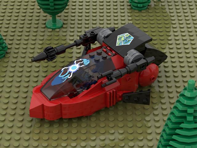 Lancer Cycle ( Visionaries , Lego )