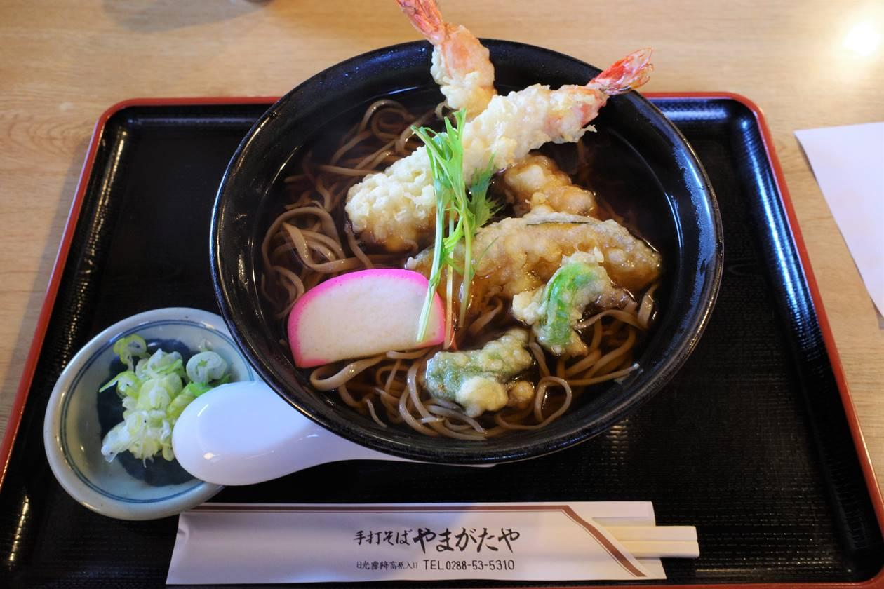 【日光】やまがたやの天ぷらそば