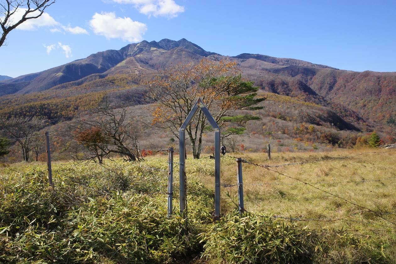 日光・大山入口のゲート