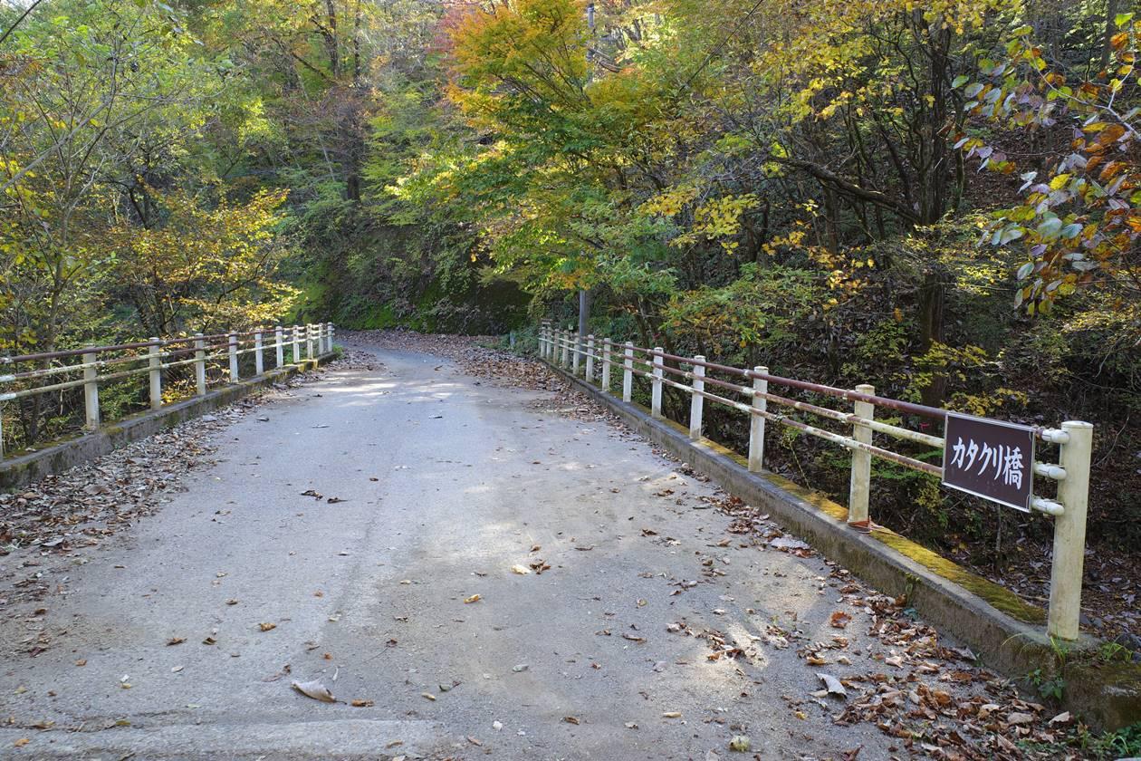 霧降の滝~大山登山 カタクリ橋