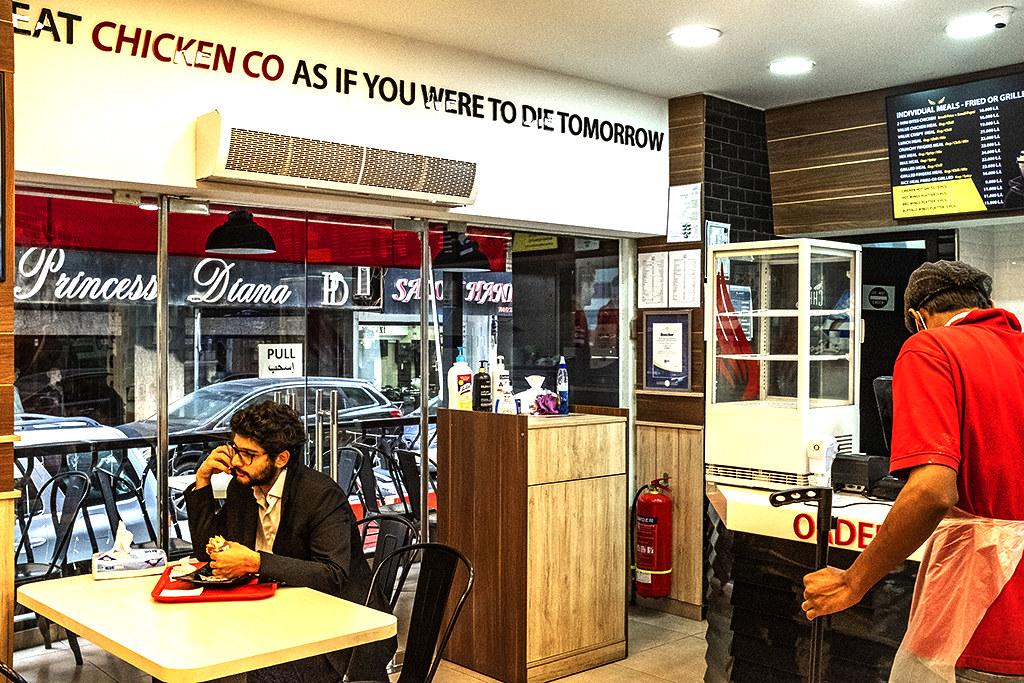 Chicken Co on 12-2-20--Beirut