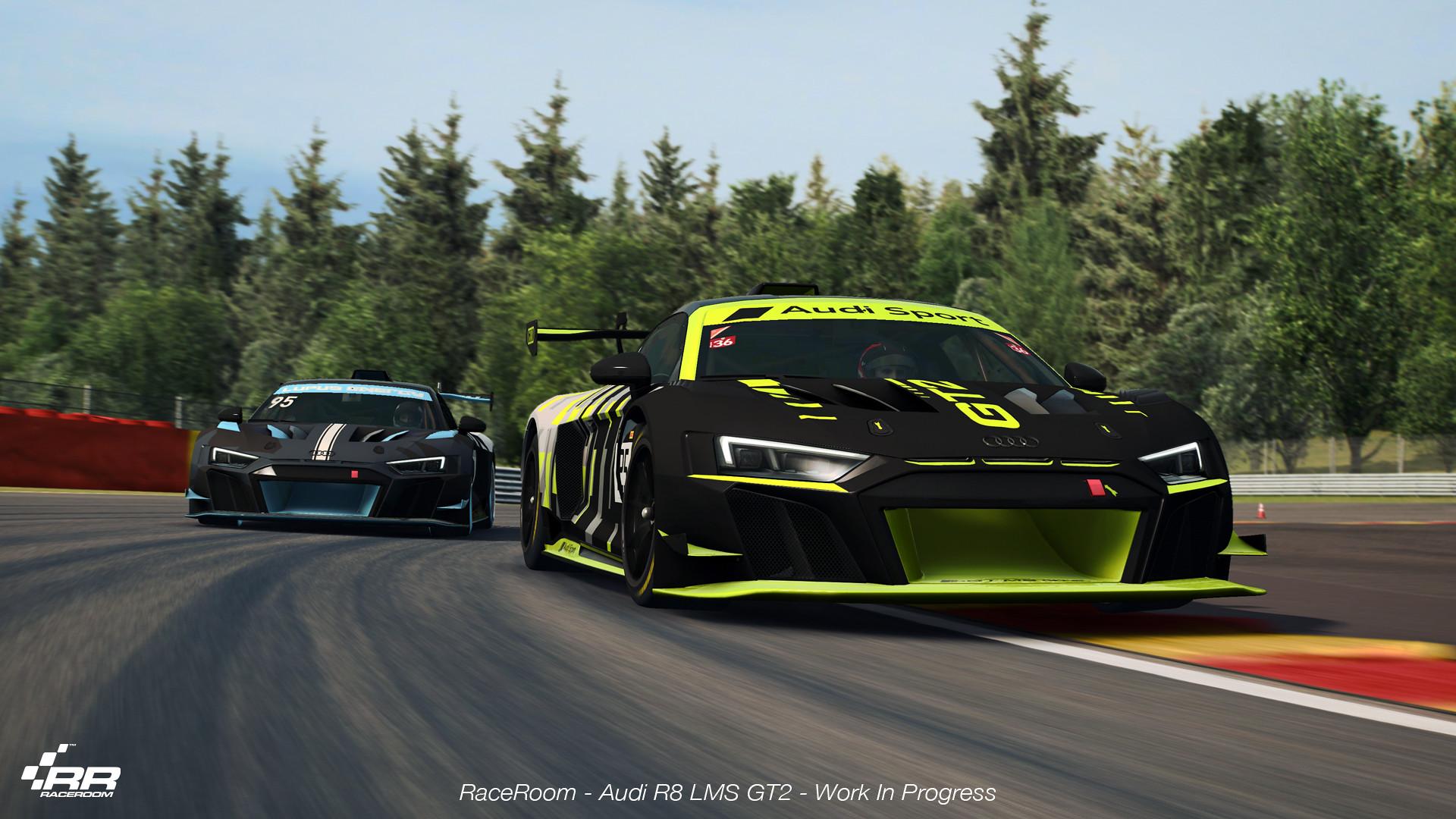 The Audi R8 LMS GT2 1