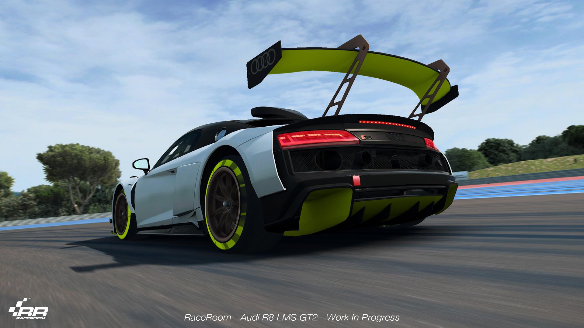The Audi R8 LMS GT2 3