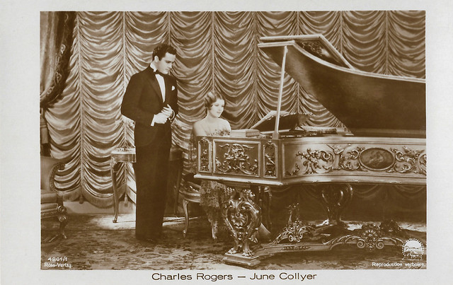 Charles Rogers and June Collyer
