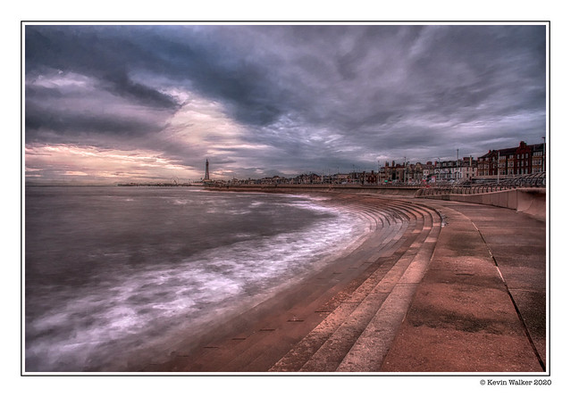 Blackpool in Winter