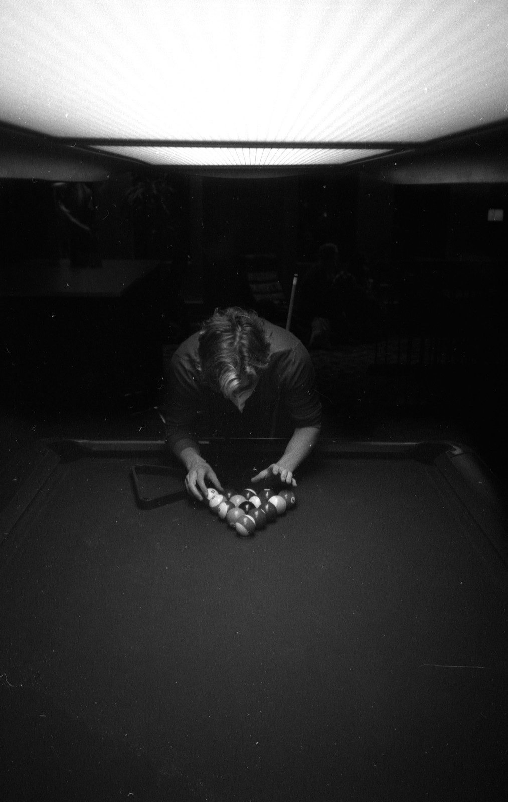 Nick Playing Pool