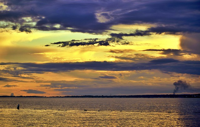 Connecticut Seascapes and Sunsets #85