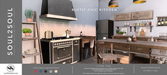 Soul2Soul. Rustic Chic Kitchen  at The Liaison Collaborative (TLC) event