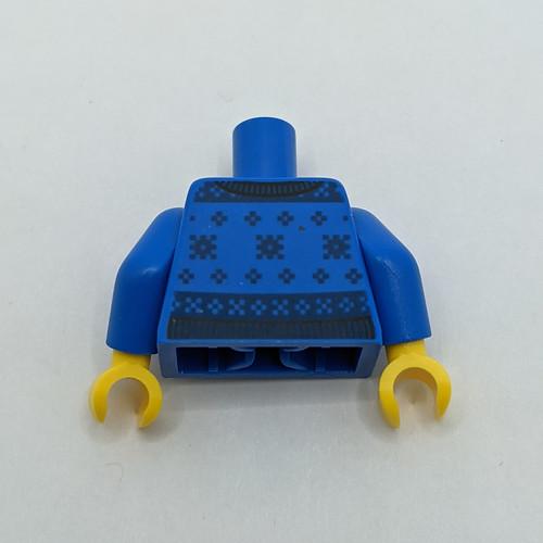 LEGO City Advent 2020 day 2 torso back
