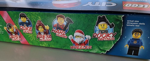 LEGO City Advent 2020 minifig box art