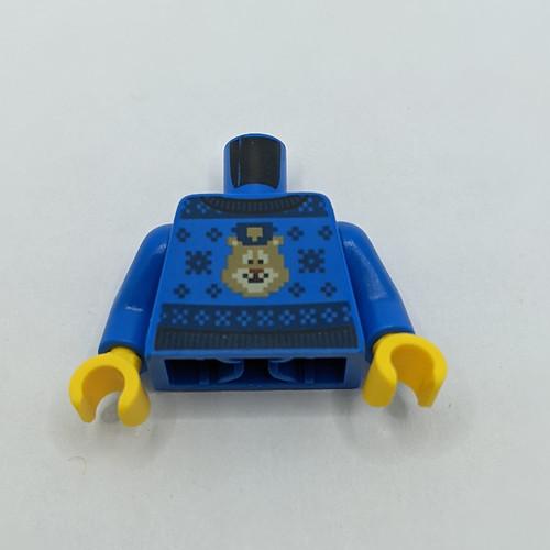 LEGO City Advent 2020 day 2 torso front