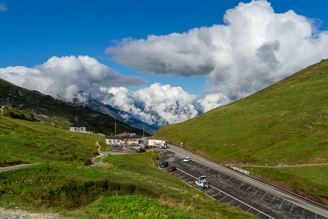 Klausenpass in August: The pass (1/3)