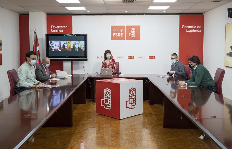 2020.12.02.Reunión dirección socialista
