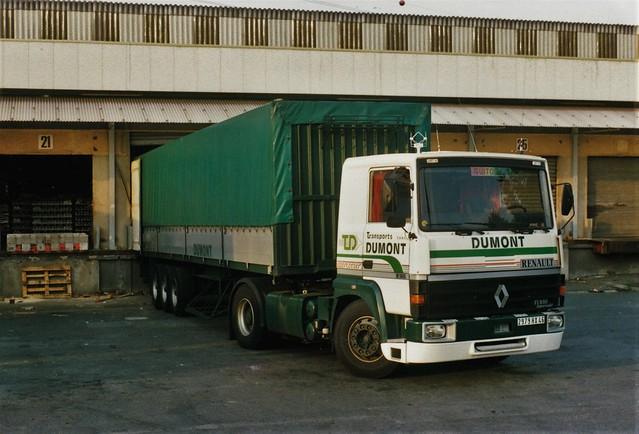 Renault R365-19t Transports Dumont Entrepôt ED Orly (94 Val de Marne) 1991a