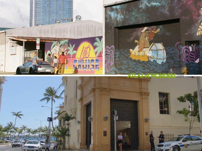 Kakaako Honolulu and Old Police Station