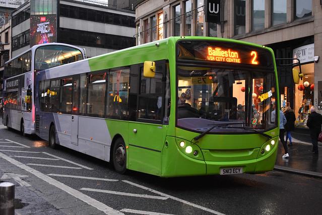 First Glasgow Alexander Dennis Enviro 300 67831