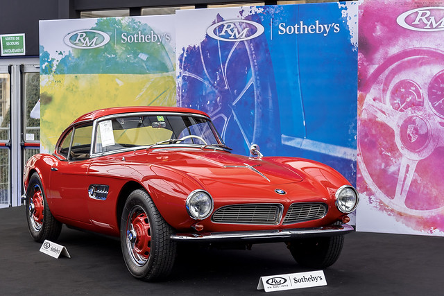 BMW 507 Roadster Series II