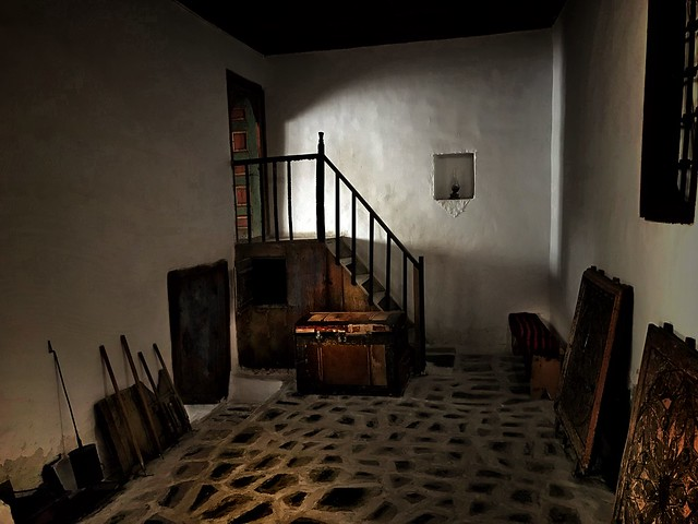 Punishment room under the stairs