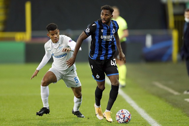 Club Brugge - Zenit 02-12-2020