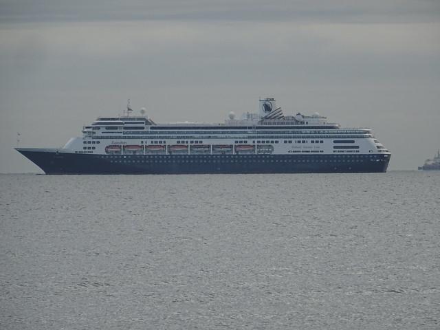 ZAANDAM (IMO:9156527) AIS Vessel type: Passenger_Call Sign: PDAN (MMSI: 246442000) HAL ANTILLEN - CURACAO