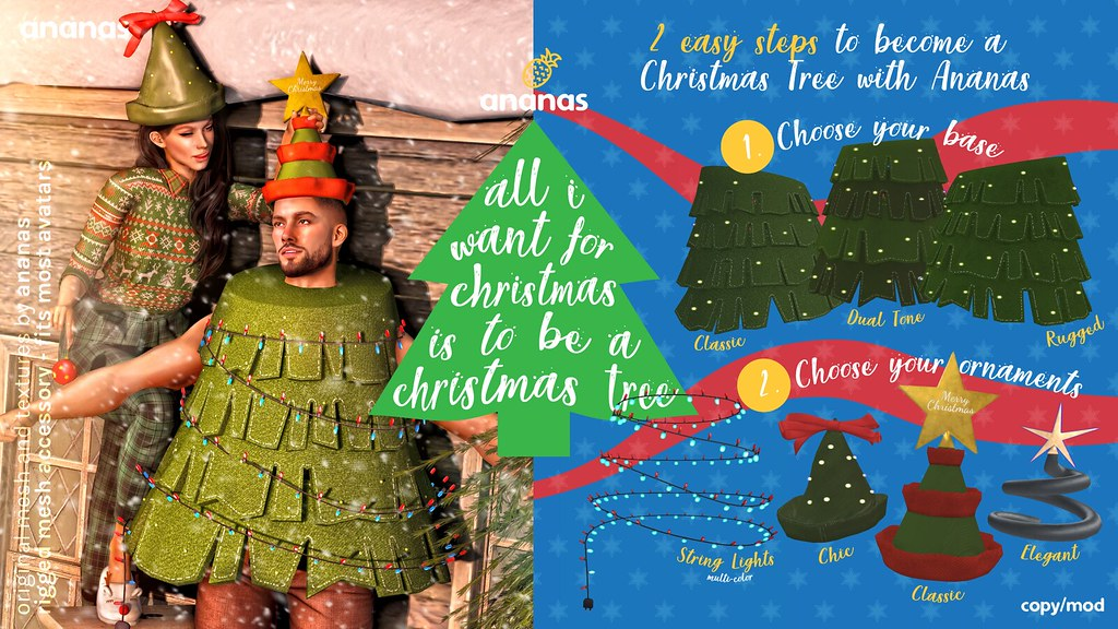 This Holiday Season, Be A Christmas Tree: An Ananas Giveaway