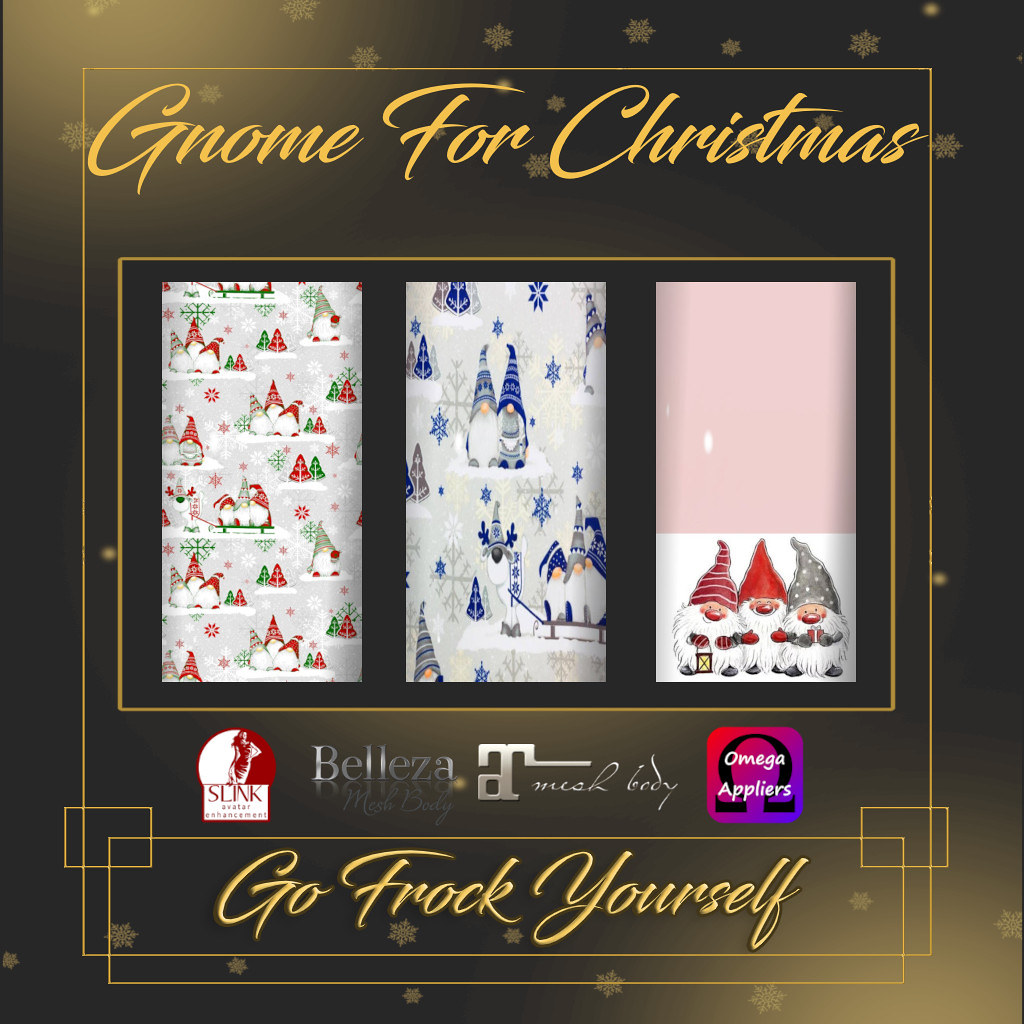 GFY-Gnome For Christmas Nail Appliers