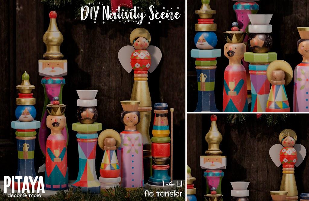 Pitaya – DIY Nativity Scene @TLC