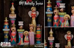 Pitaya - DIY Nativity Scene @TLC
