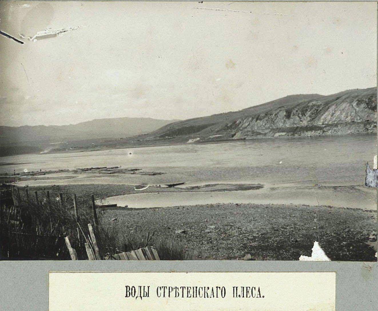 Воды Сретенского плёса.