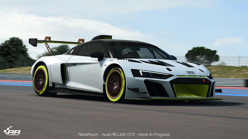 RaceRoom Audi R8 LMS GT2
