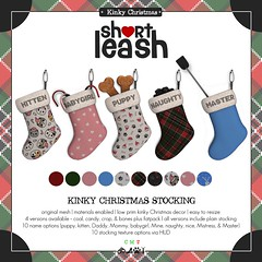 .:Short Leash:. Kinky Christmas Stocking