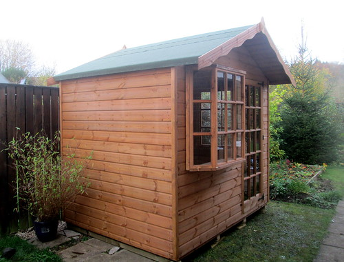 New Summerhouse/shed