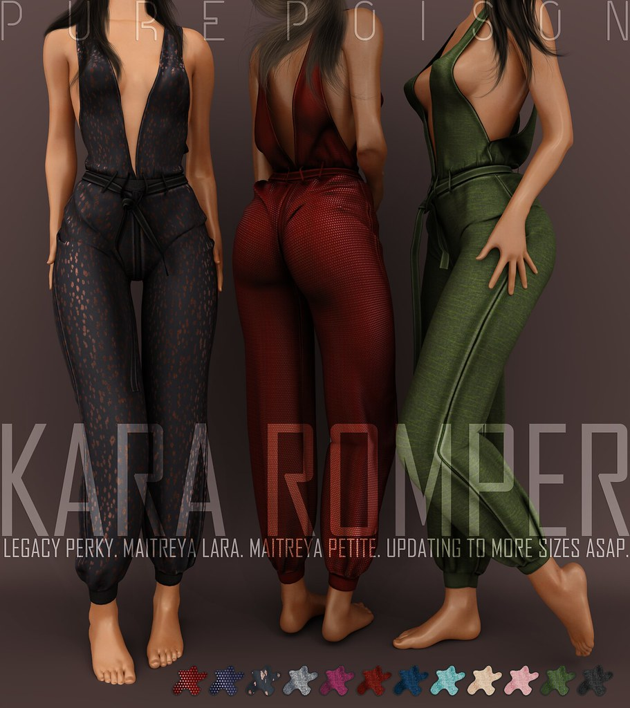 Pure Poison – Kara Romper – AD