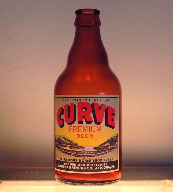 1949 Curve Beer Bottle