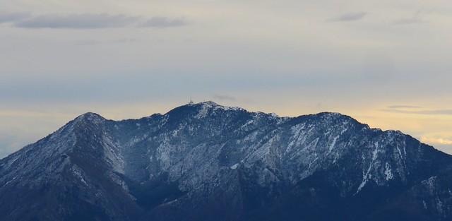 Mont Vial, l'ibac avec la neige.