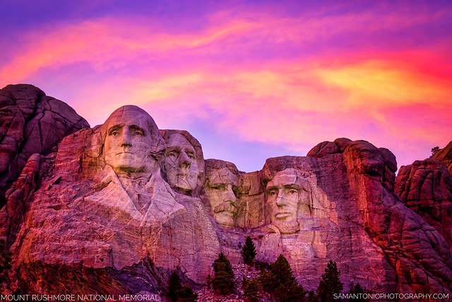American History...Alive in Stone - Mount Rushmore, South Dakota