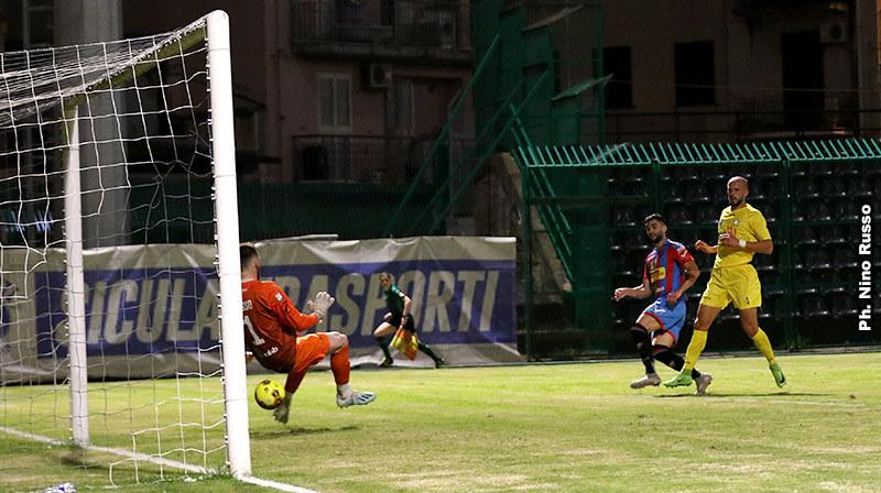 Il gol di Calapai