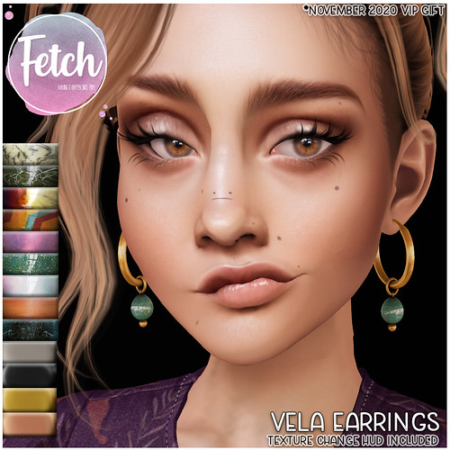 [Fetch] Vela Earrings @ VIP Gift!