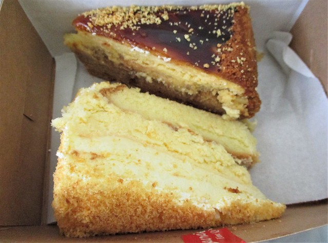 Secret Recipe salted caramel macadamia & Hokkaido triple cheese