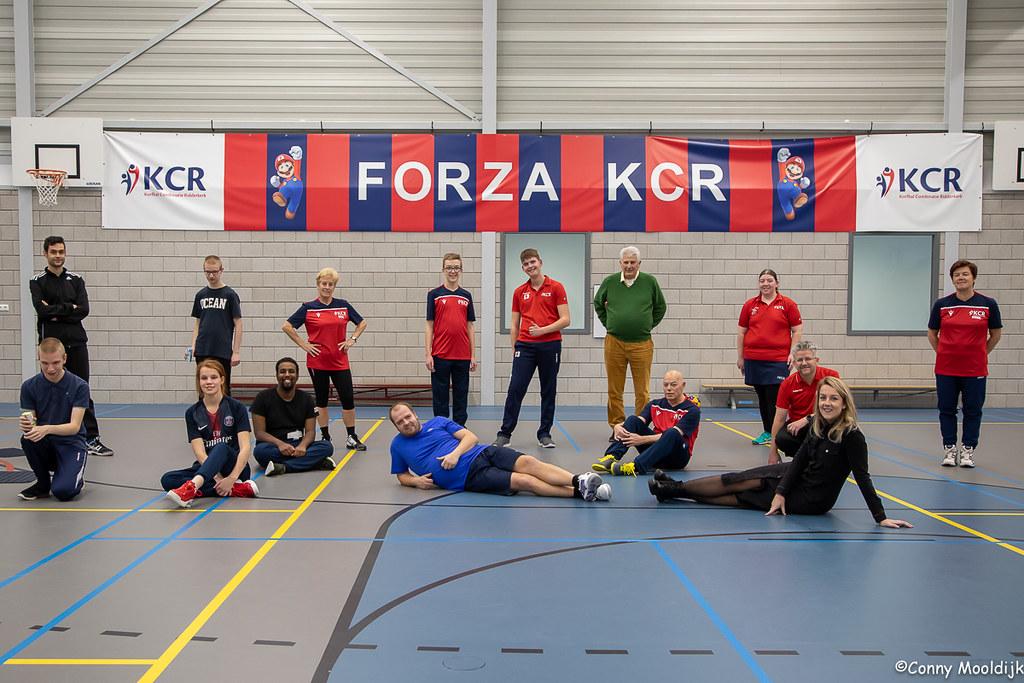 KCR G-team met sponsor Sierat