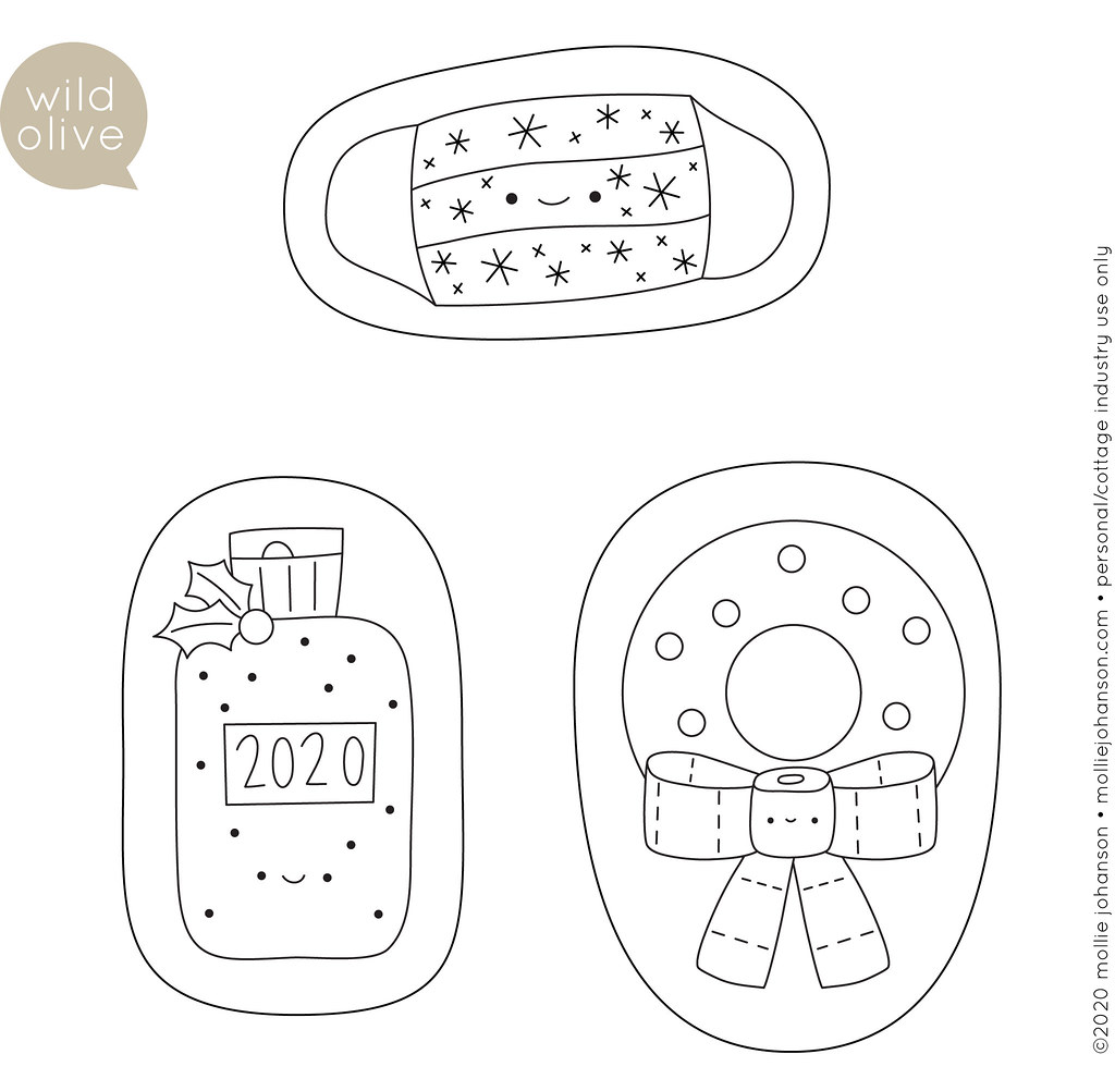 2020 Christmas Ornament Patterns