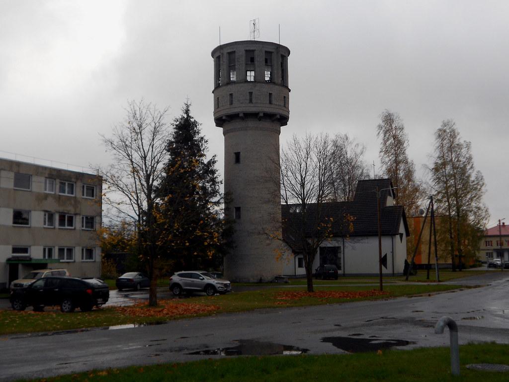 Муствеэ. Водонапорная башня.