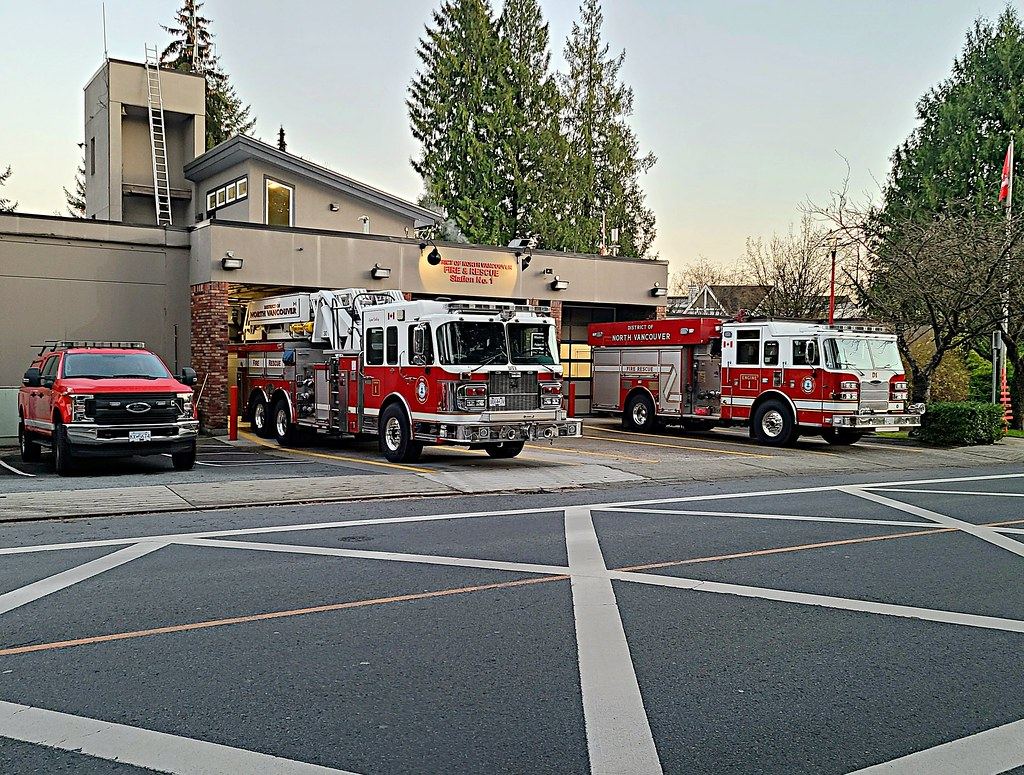North Vancouver District, BC Fire Station No. 1