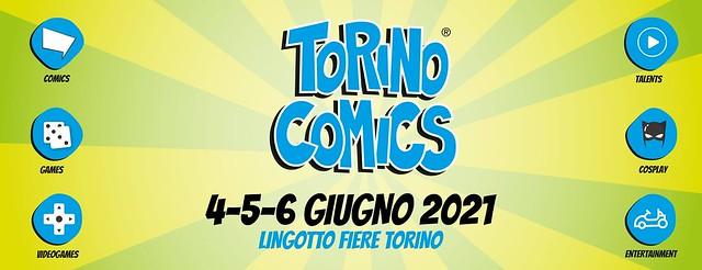 Torino Comics 2021 le date